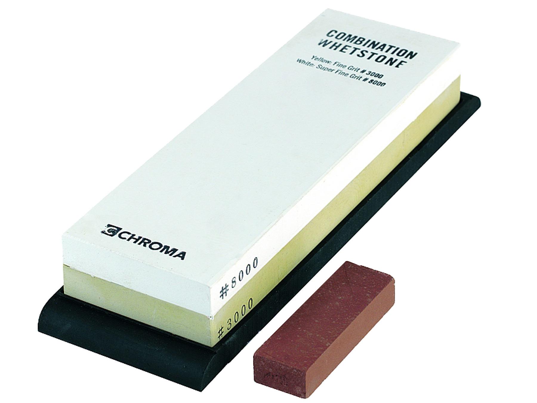 Chroma ST-3/8 Schleifstein Körnung 3000/8000
