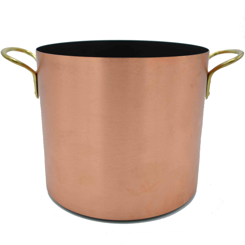 Kupfermanufaktur Gemüsetopf Keramik Induktion 20 cm