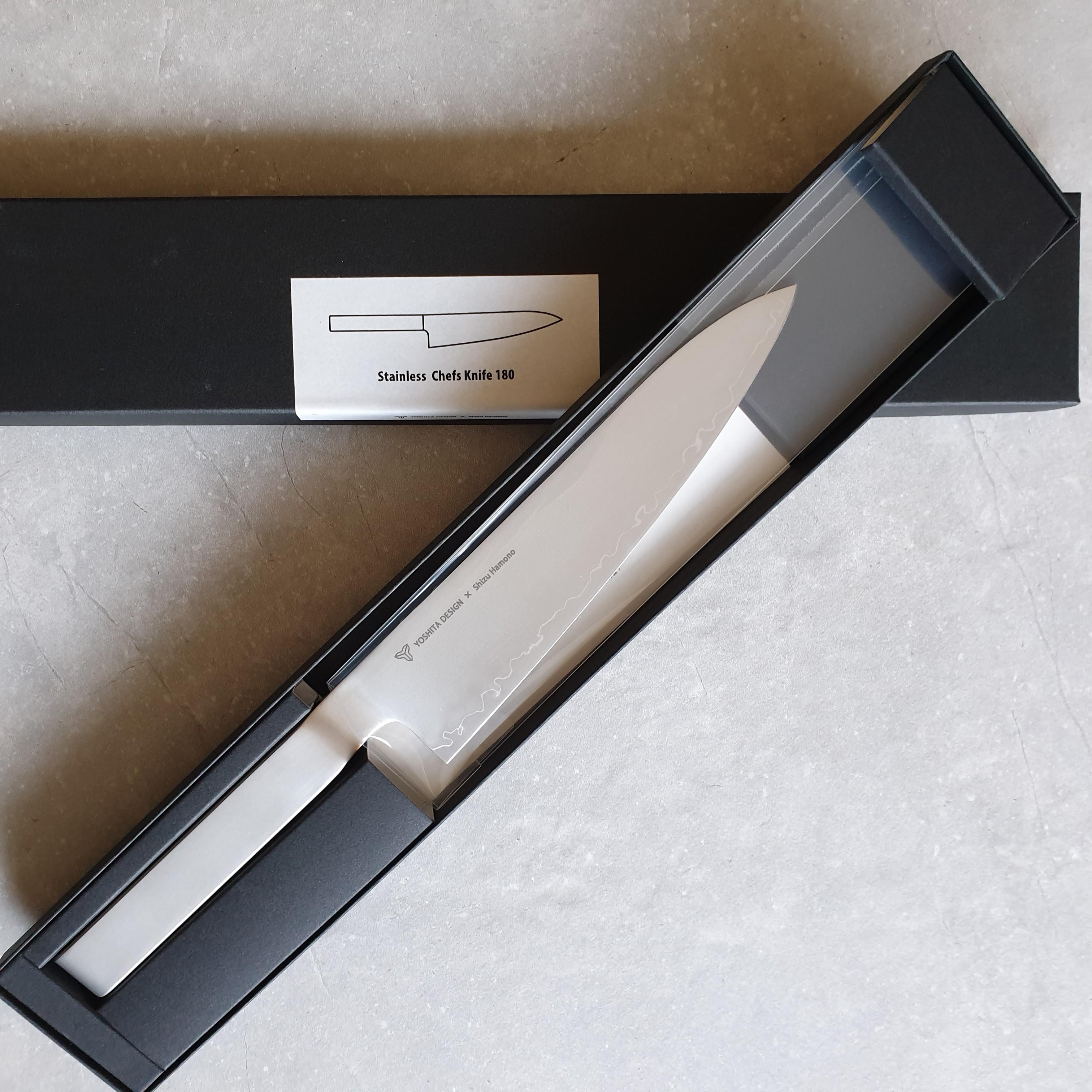 Shizu Hamono Round-bar YR-1002 Kochmesser 18 cm