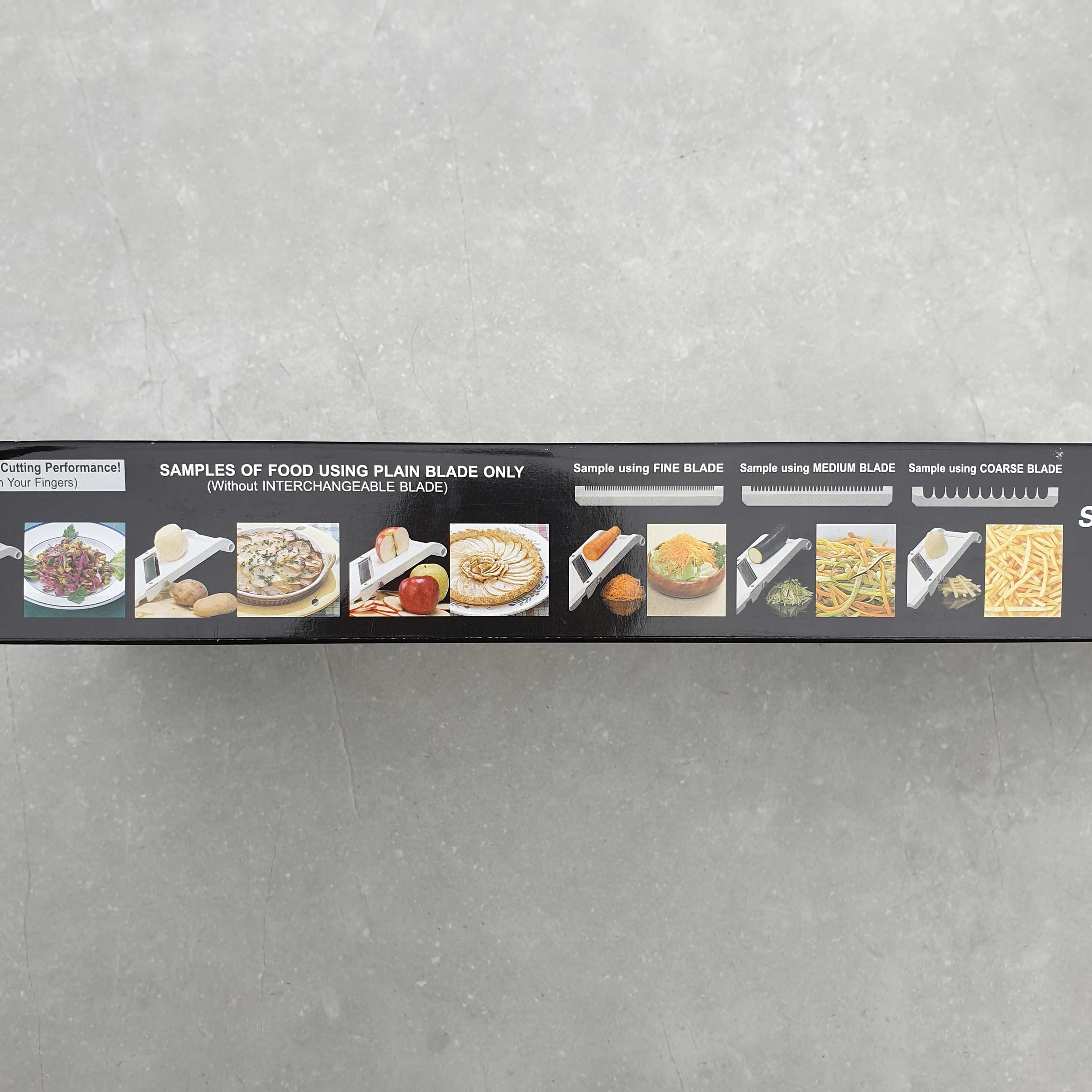 Benriner Mandoline Gemüsehobel BN-95W 95mm weiß