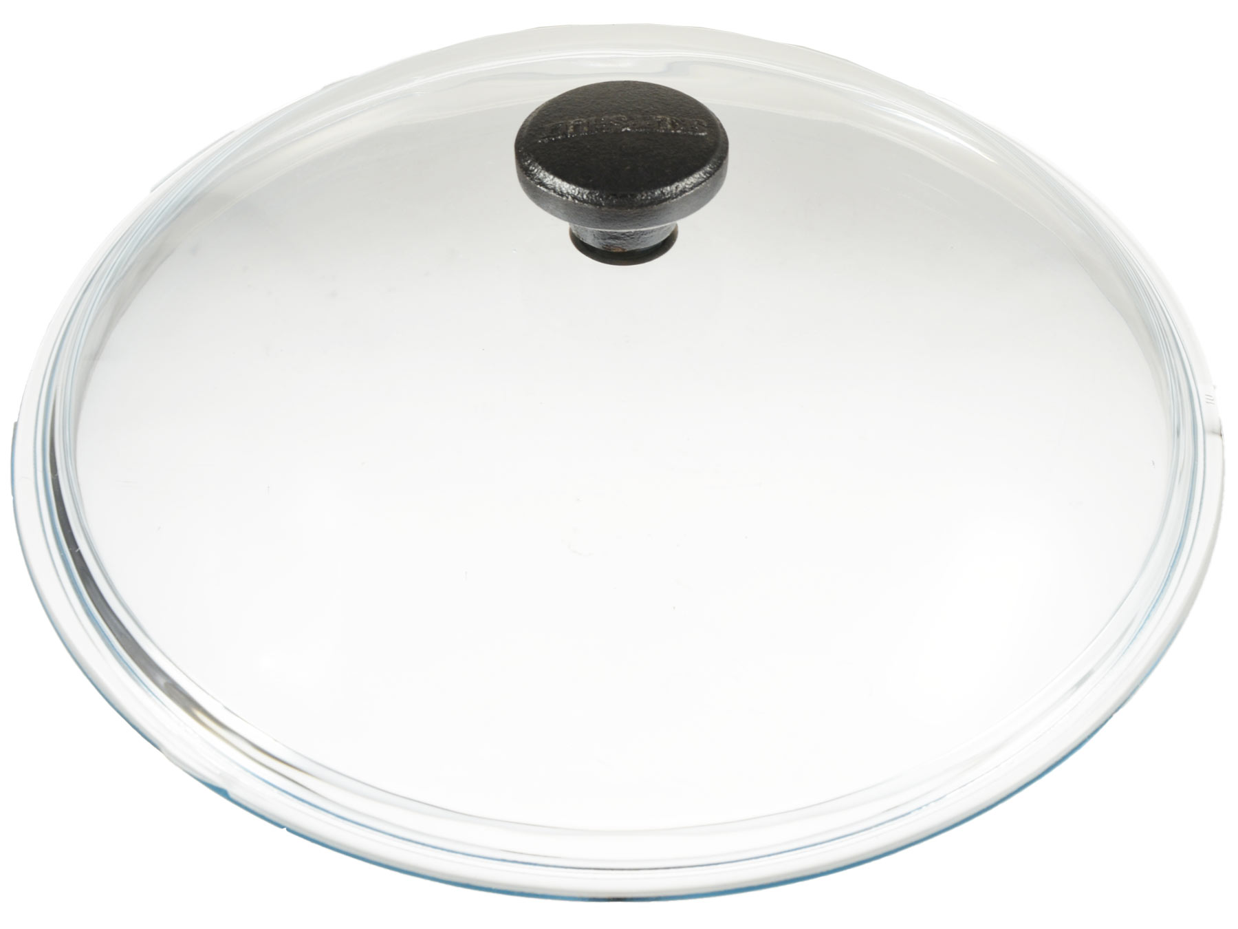 Skeppshult Glasdeckel mit Gusseisenknopf 0,9 Kg 25 cm