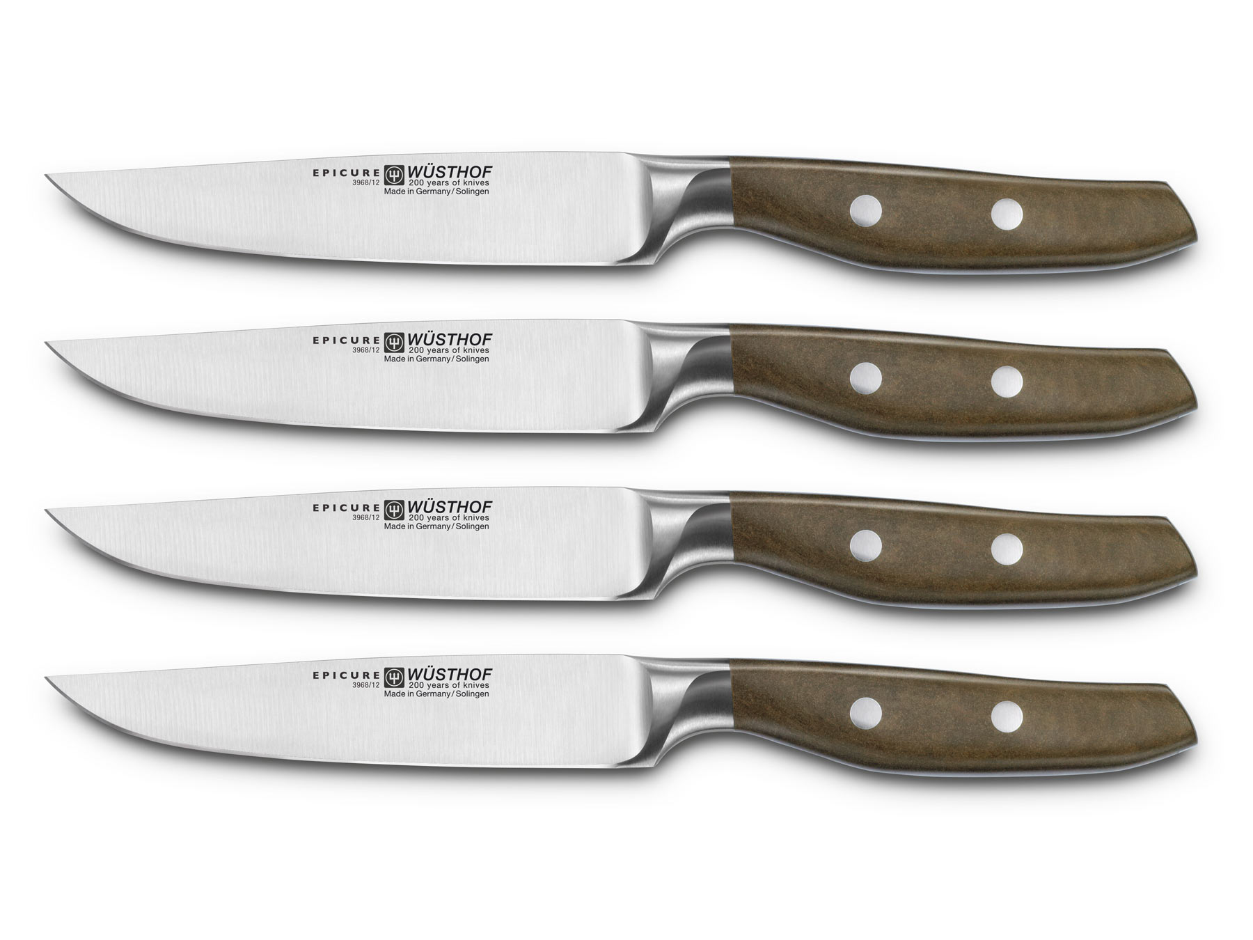 Wüsthof Epicure 9668 Steakmessersatz 4-teilig
