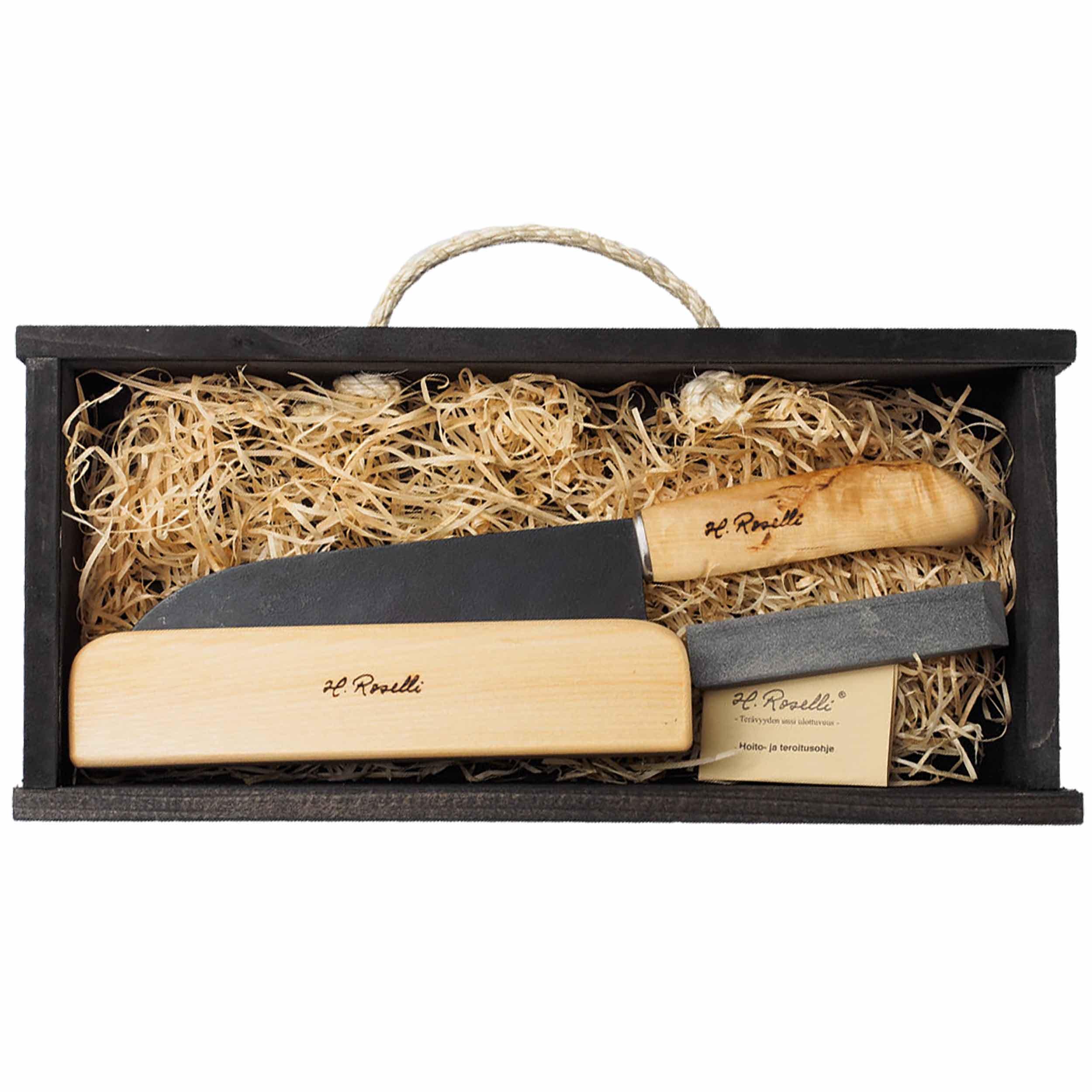 Roselli R710P kleines Kochmesser 16,5 cm als Geschenkset