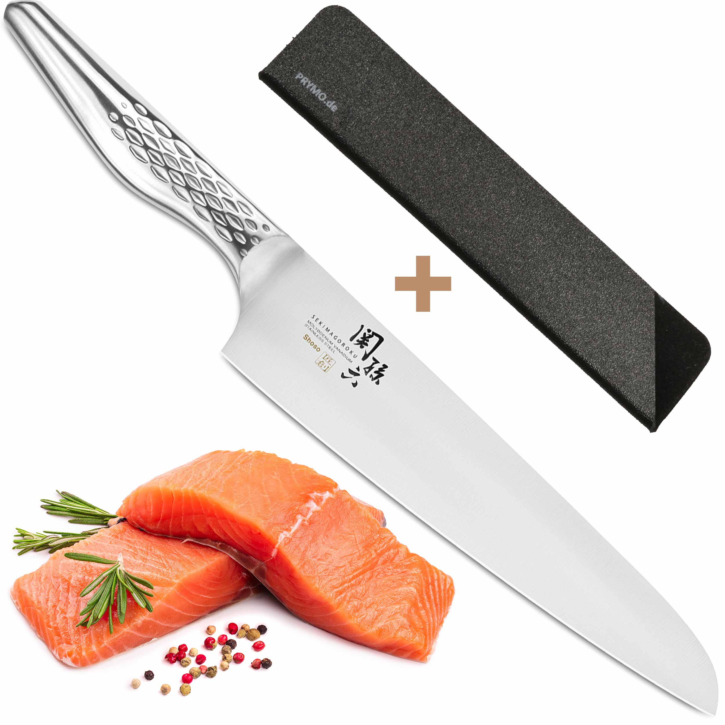KAI Seki Magoroku Shoso AB-5159 Kochmesser 21 cm