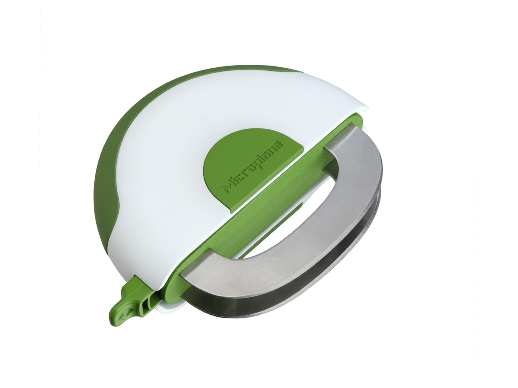 Microplane Easy Prep 48008 Wiegemesser für Salat und Kräuter