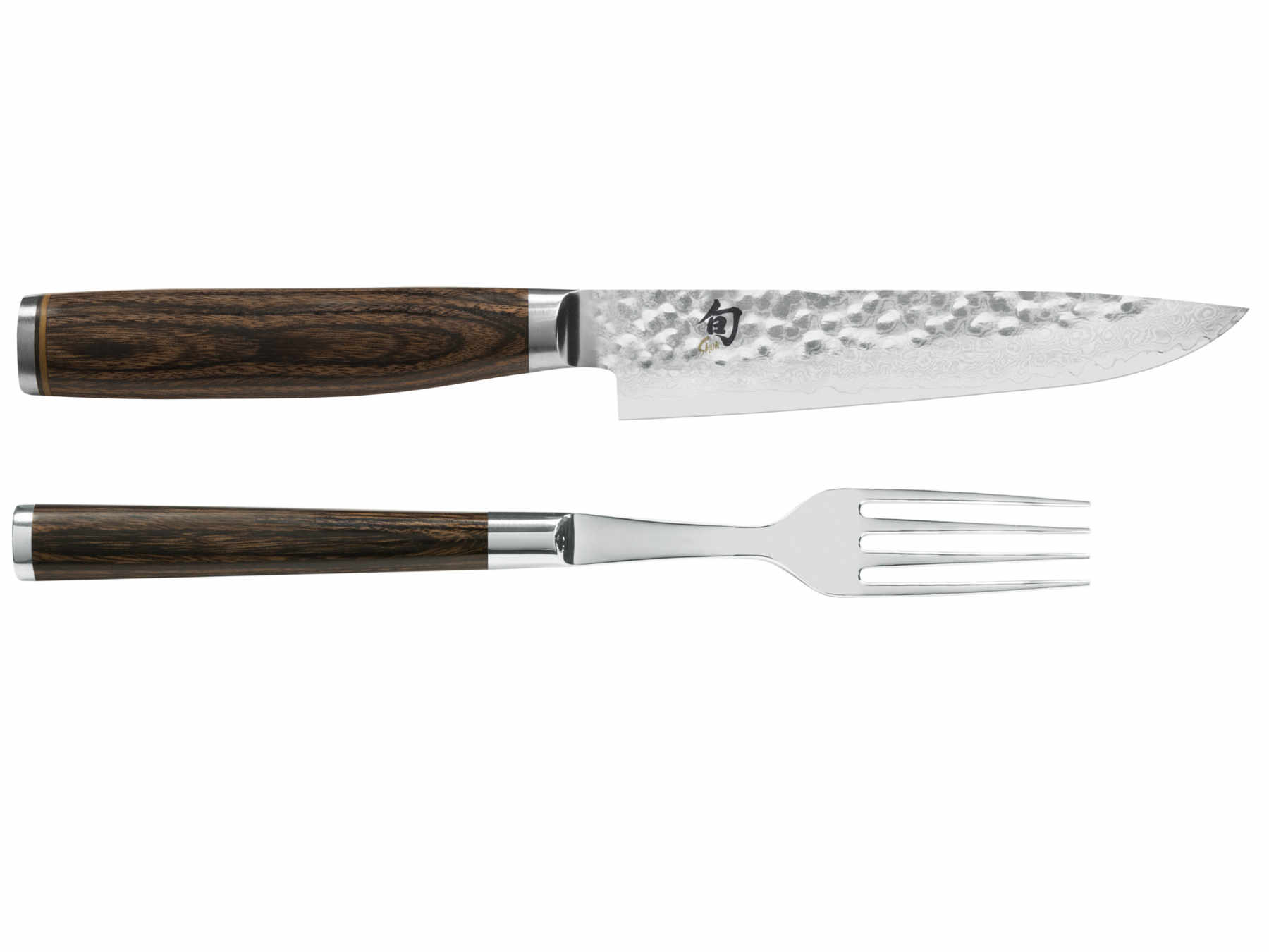 KAI Shun Premier TDM-0907 Besteckset: Steakmesser + Gabel