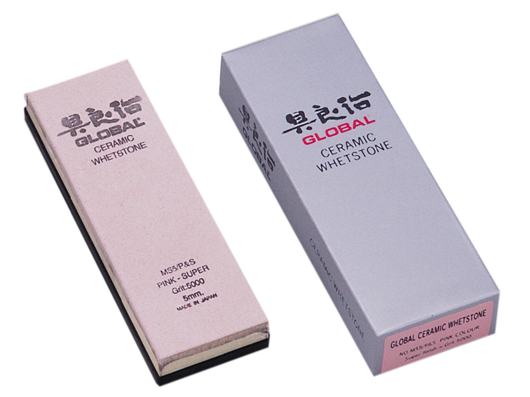 Global Schleifstein MS5/P&S, fein, pink - Körnung 5000