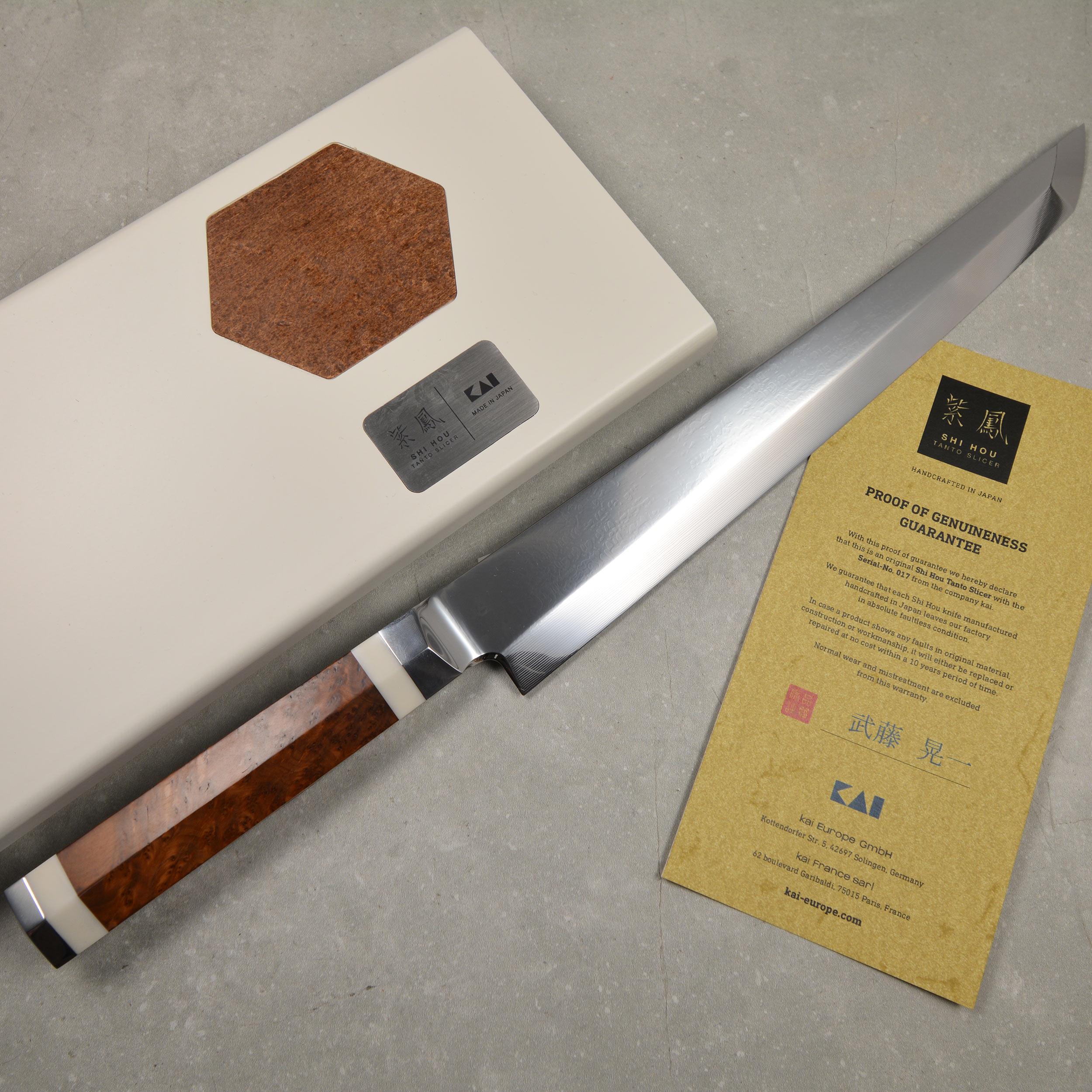KAI Shun Shi Hou BZ-0048 Tanto Slicer 29 cm