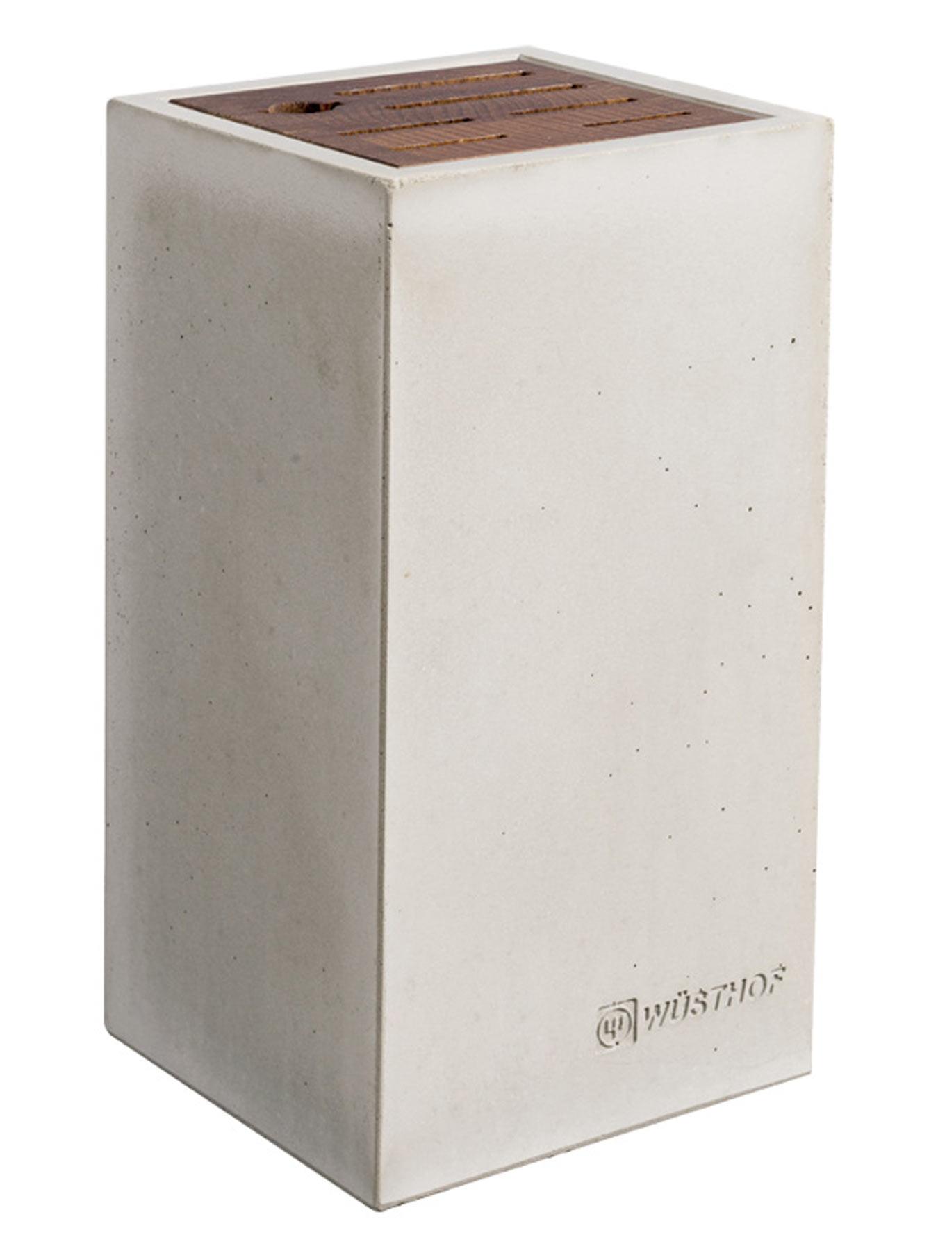 Wüsthof 7258 Messerblock Beton / Thermobuche
