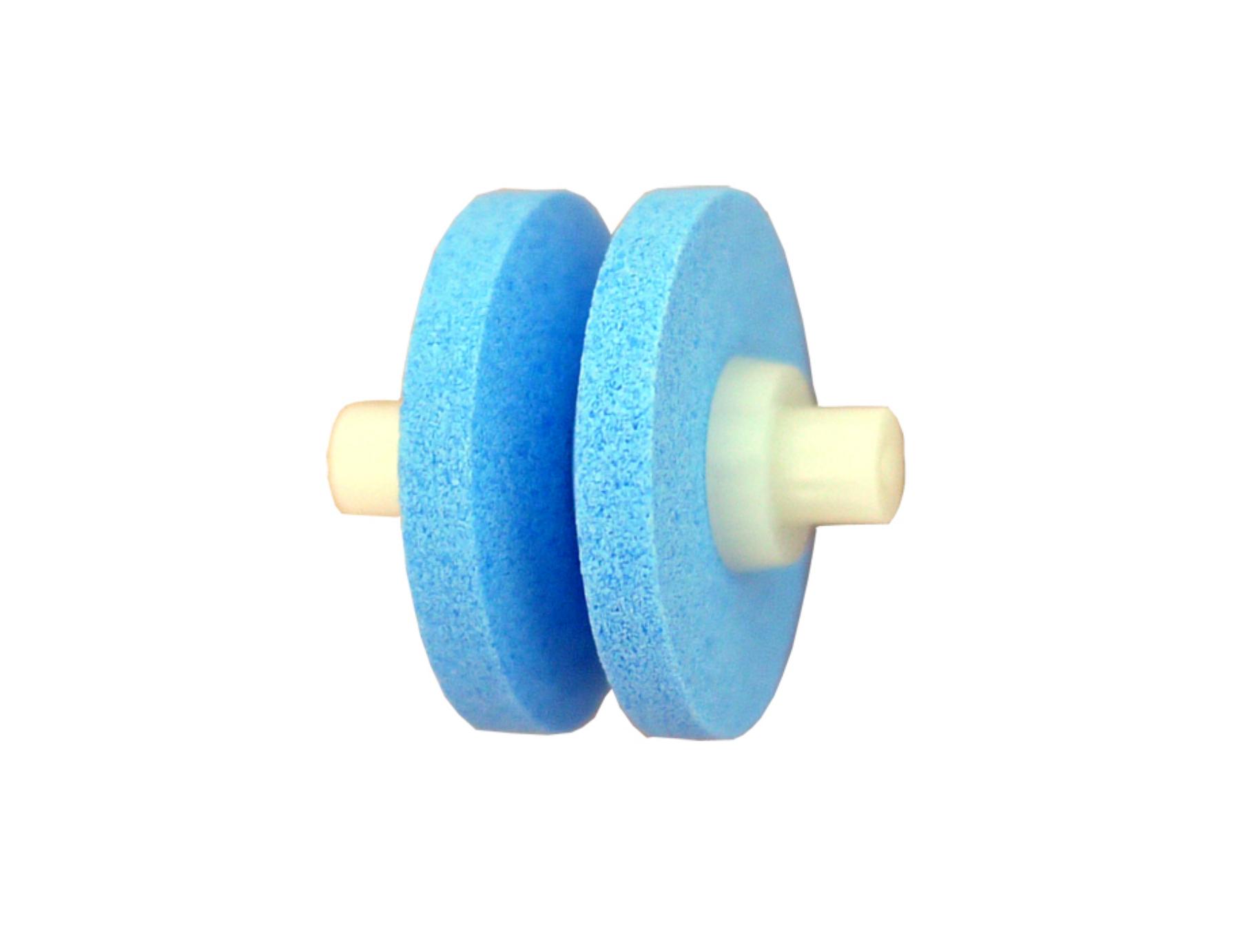 MinoSharp 555 Ersatz Keramikstein für 550-GB und 550-BR, blau