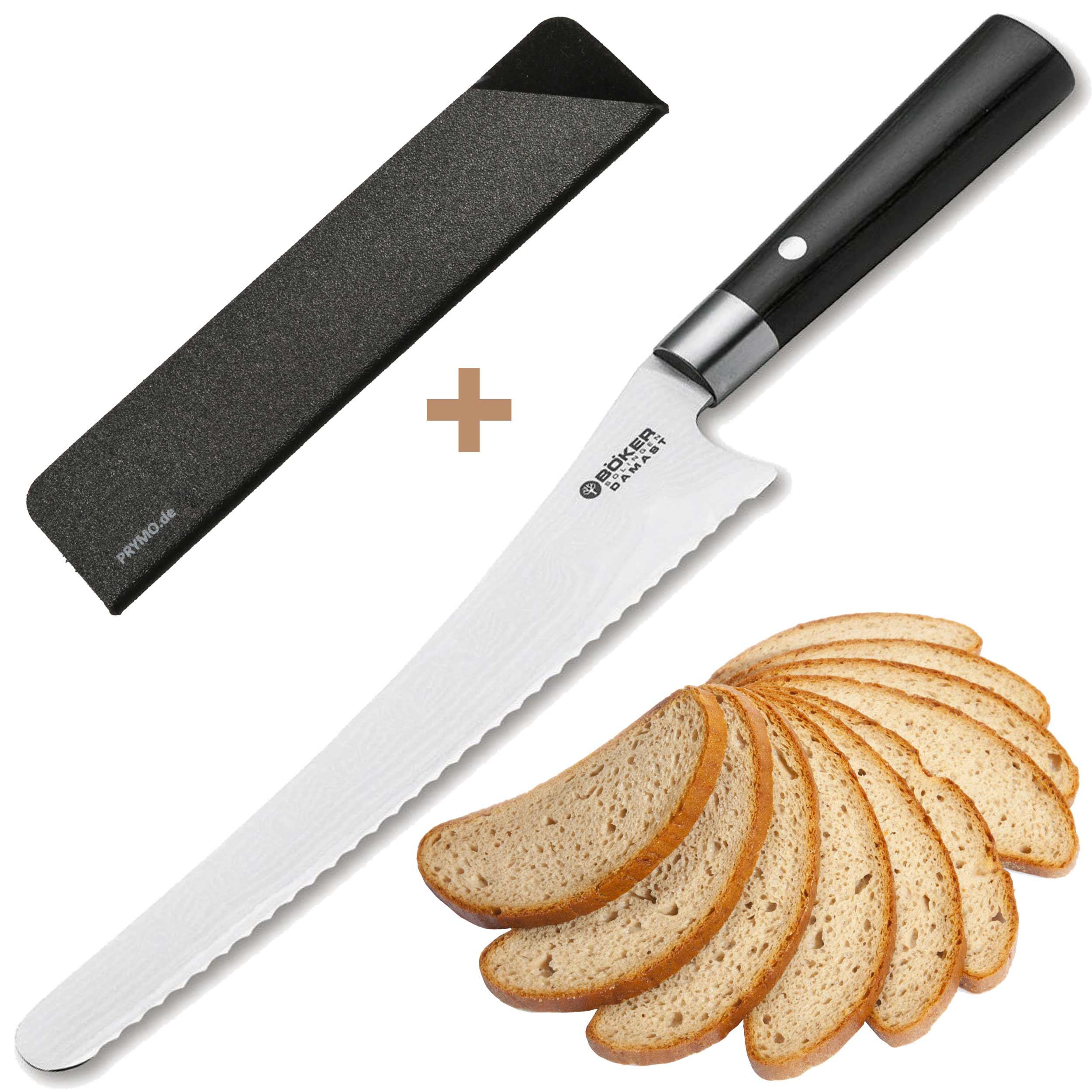 Böker Damast Black Brotmesser 23cm