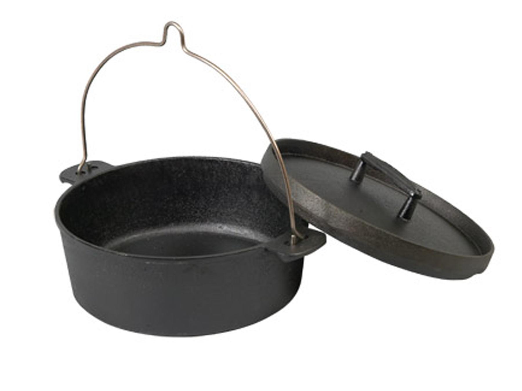 Skeppshult Topf Dutch Oven 5,5 l mit Gusseisendeckel
