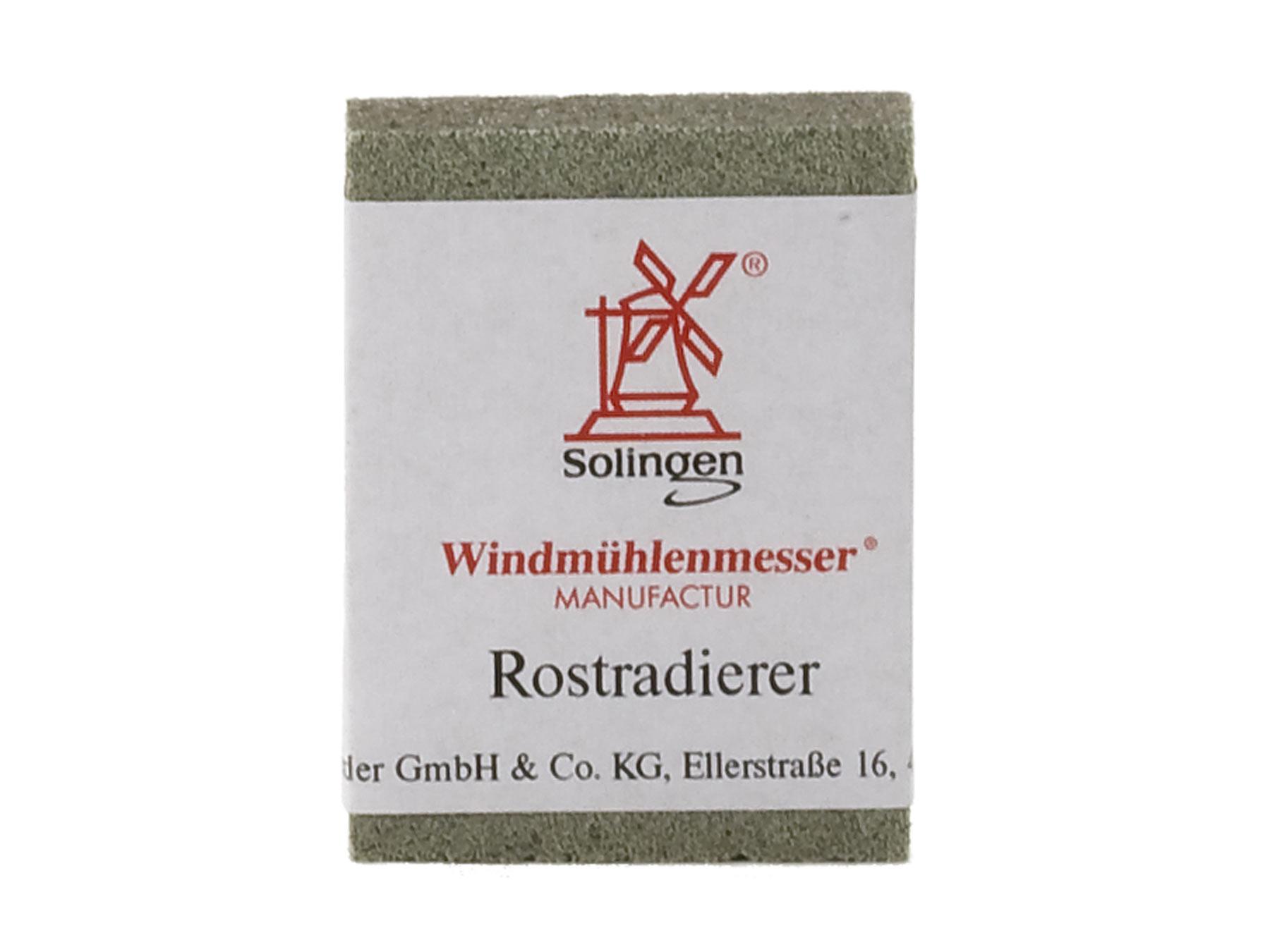 Windmühle Rostradierer