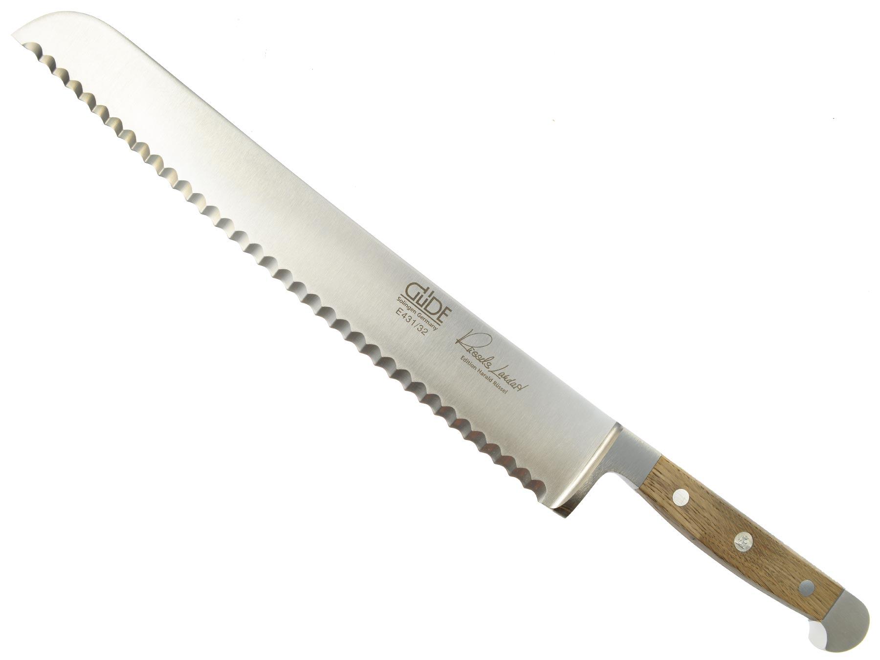 Güde Alpha Faßeiche Brotmesser E431/32L - 32 cm linkshänder Vers
