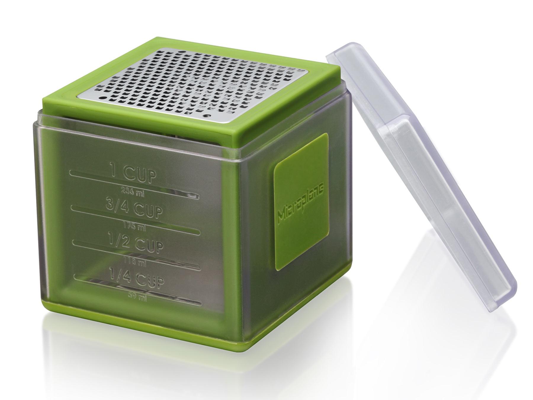 Microplane Specialty 34702 Cube 3 Klingenausführungen grün
