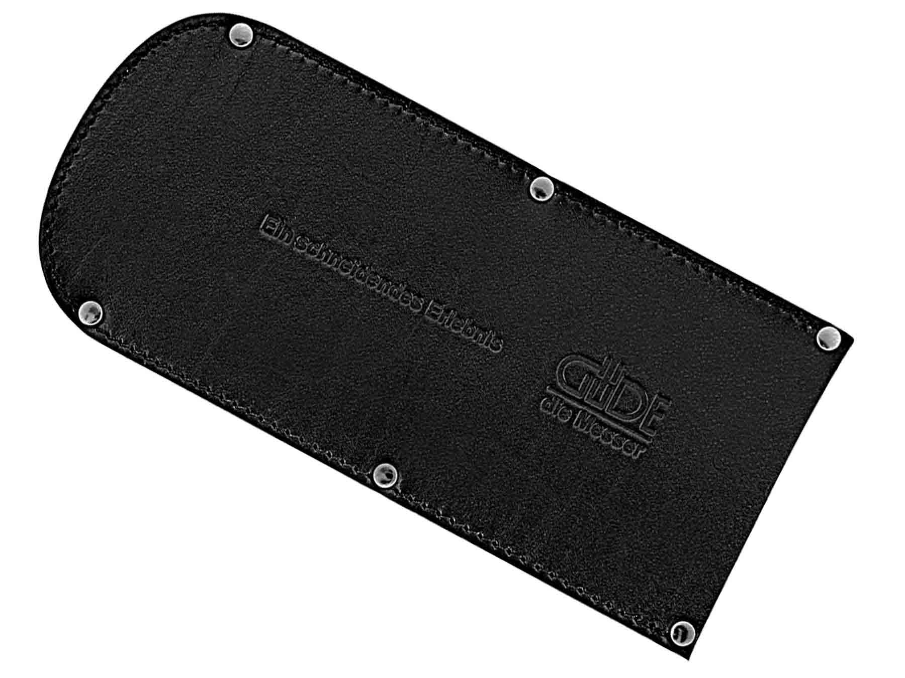 Güde Messerscheide 5200/16B aus Leder - 16 cm extra breit