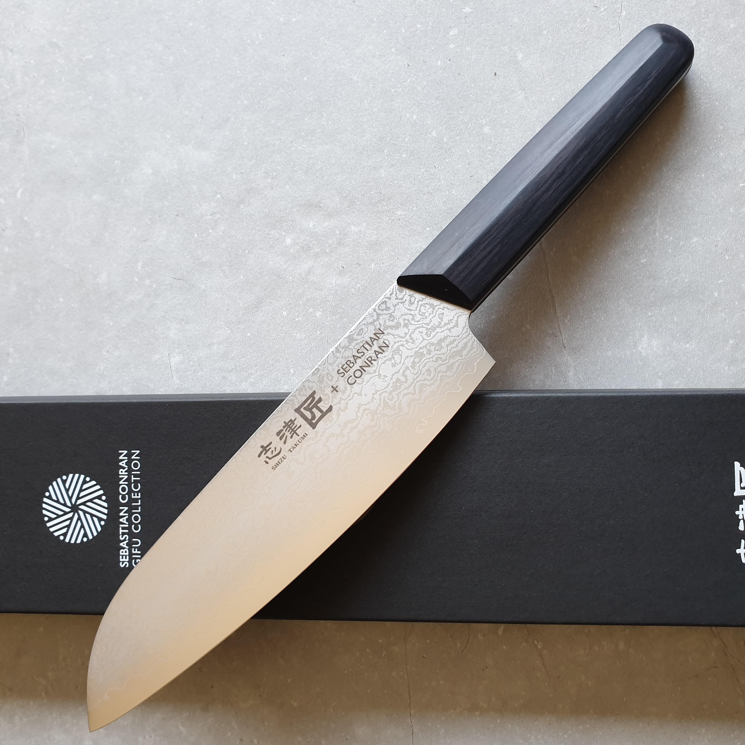 Shizu Hamono Sebastian Conran Gifu SC-1101 Santoku 19cm