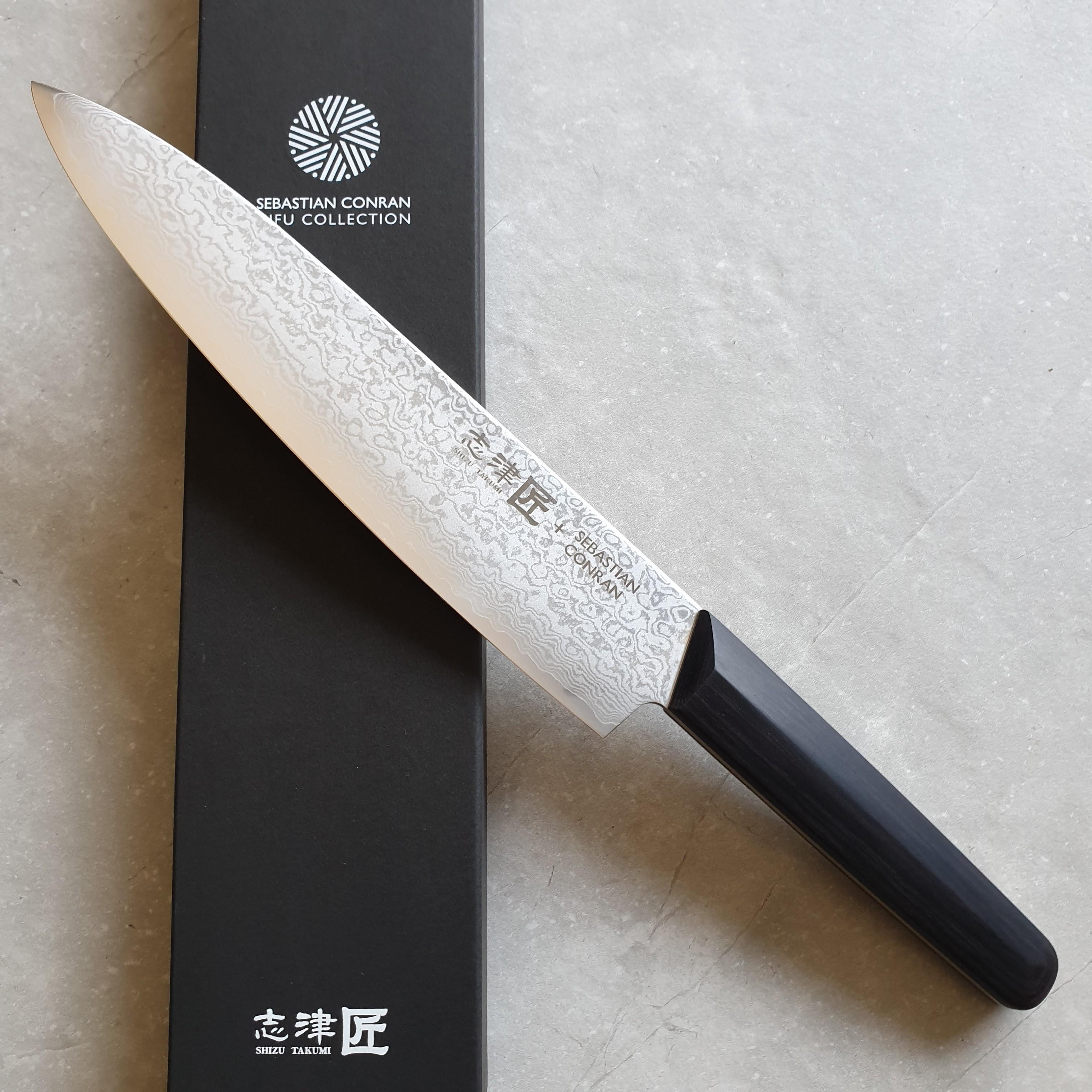 Shizu Hamono Sebastian Conran Gifu SC-1100 Kochmesser 23cm