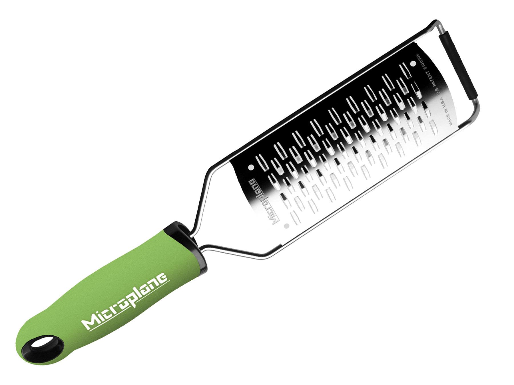 Microplane Gourmet 45702 Medium-Ribbon Mittelgroße Schneide grün