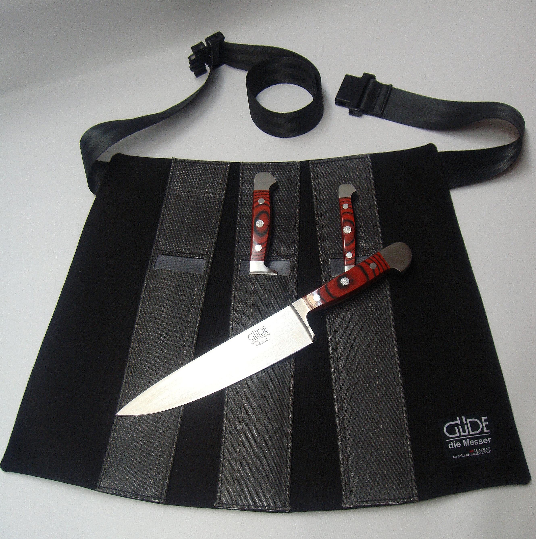 Güde Messerschürze für 3 Messer