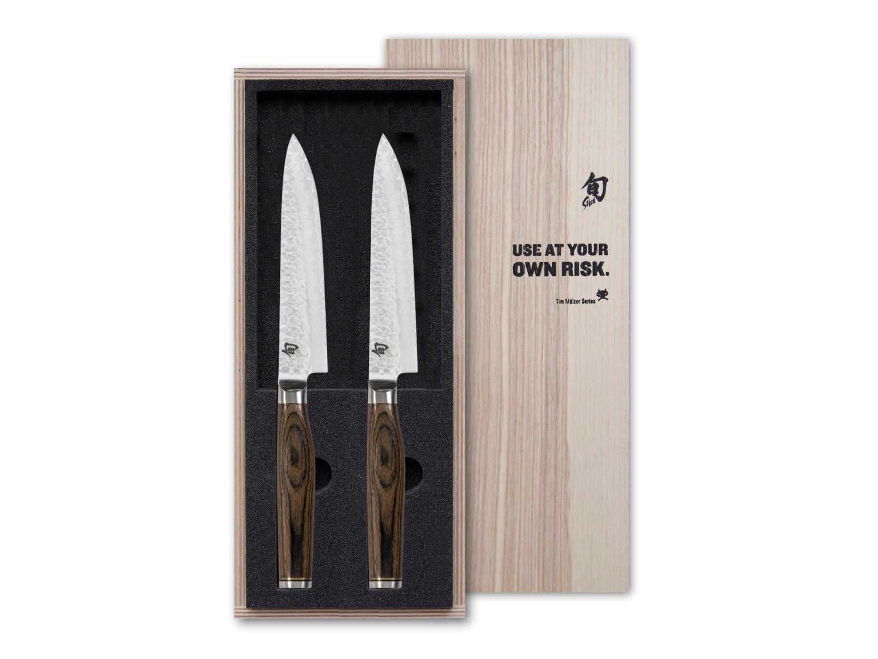 KAI Shun Premier TDMS-400 Steakmesser Set 2 teilig