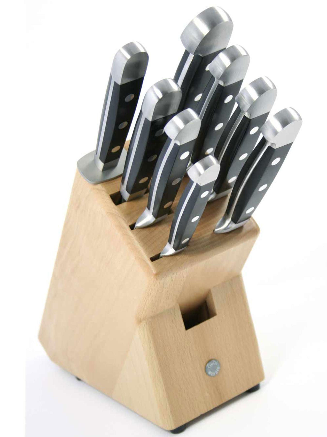 Güde 9-1000LN Messerblock natur unbestückt für 8 Teile