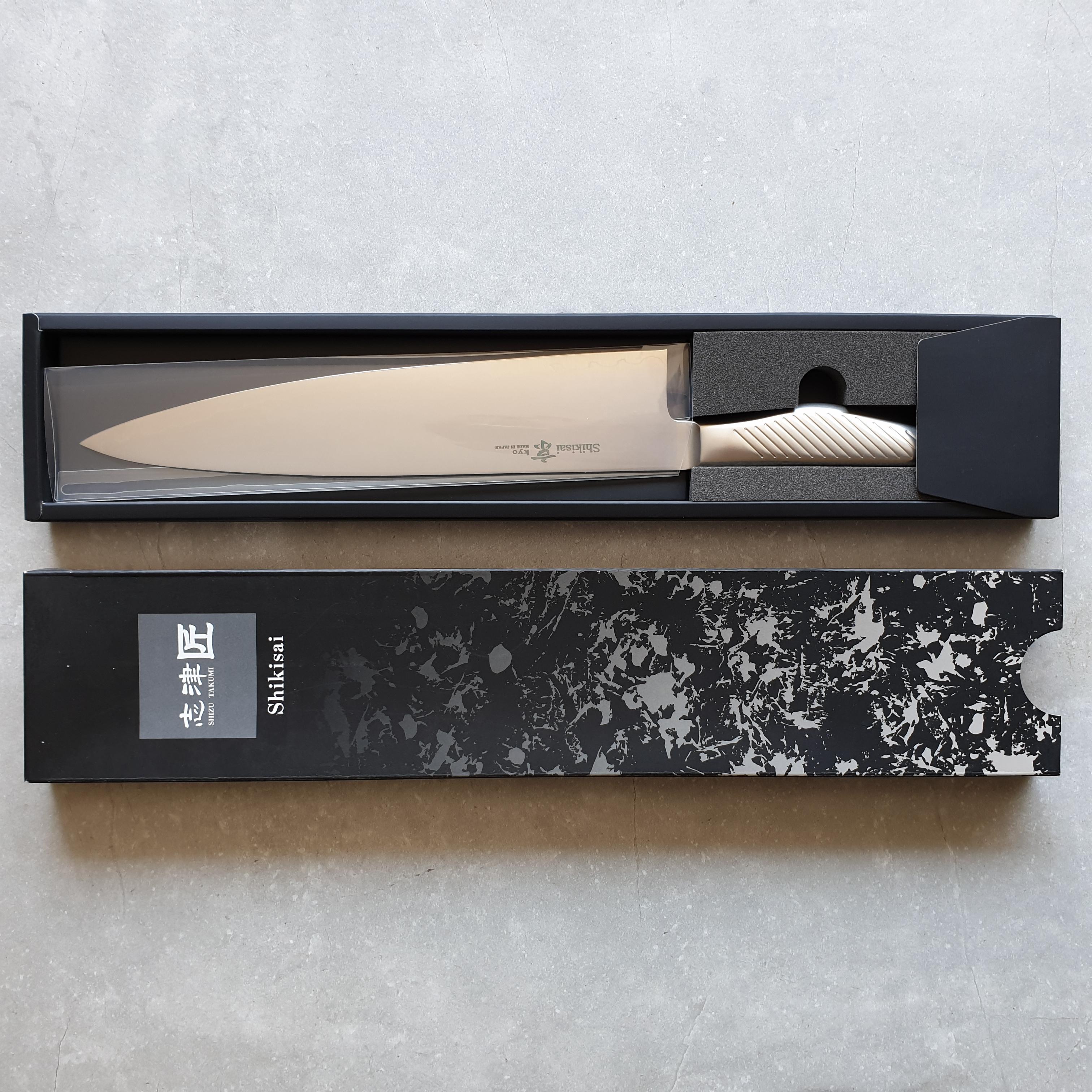 Shizu Hamono Kyo SK-1073 Kochmesser 24cm