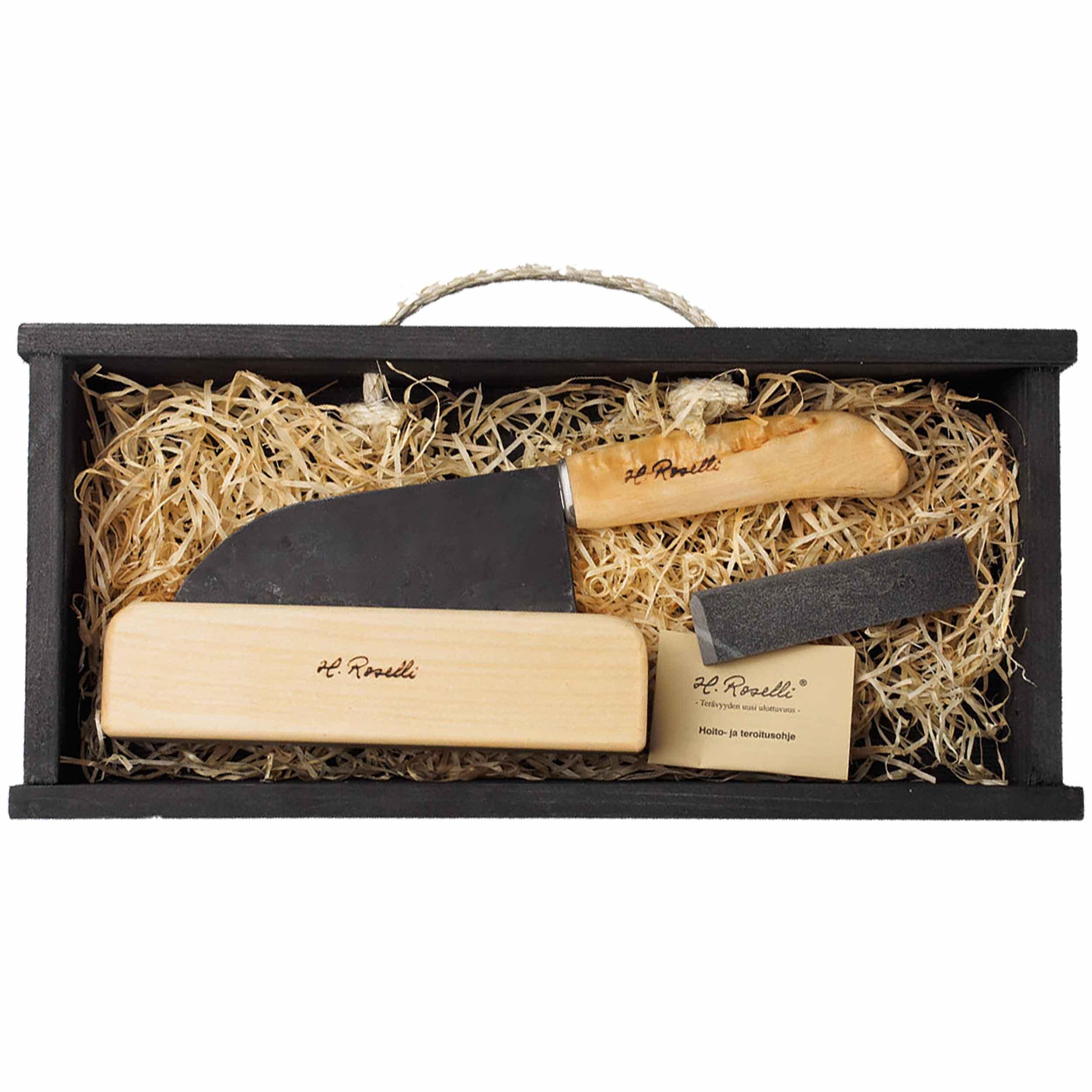 Roselli R700P Santoku Messer 14 cm als Geschenkset