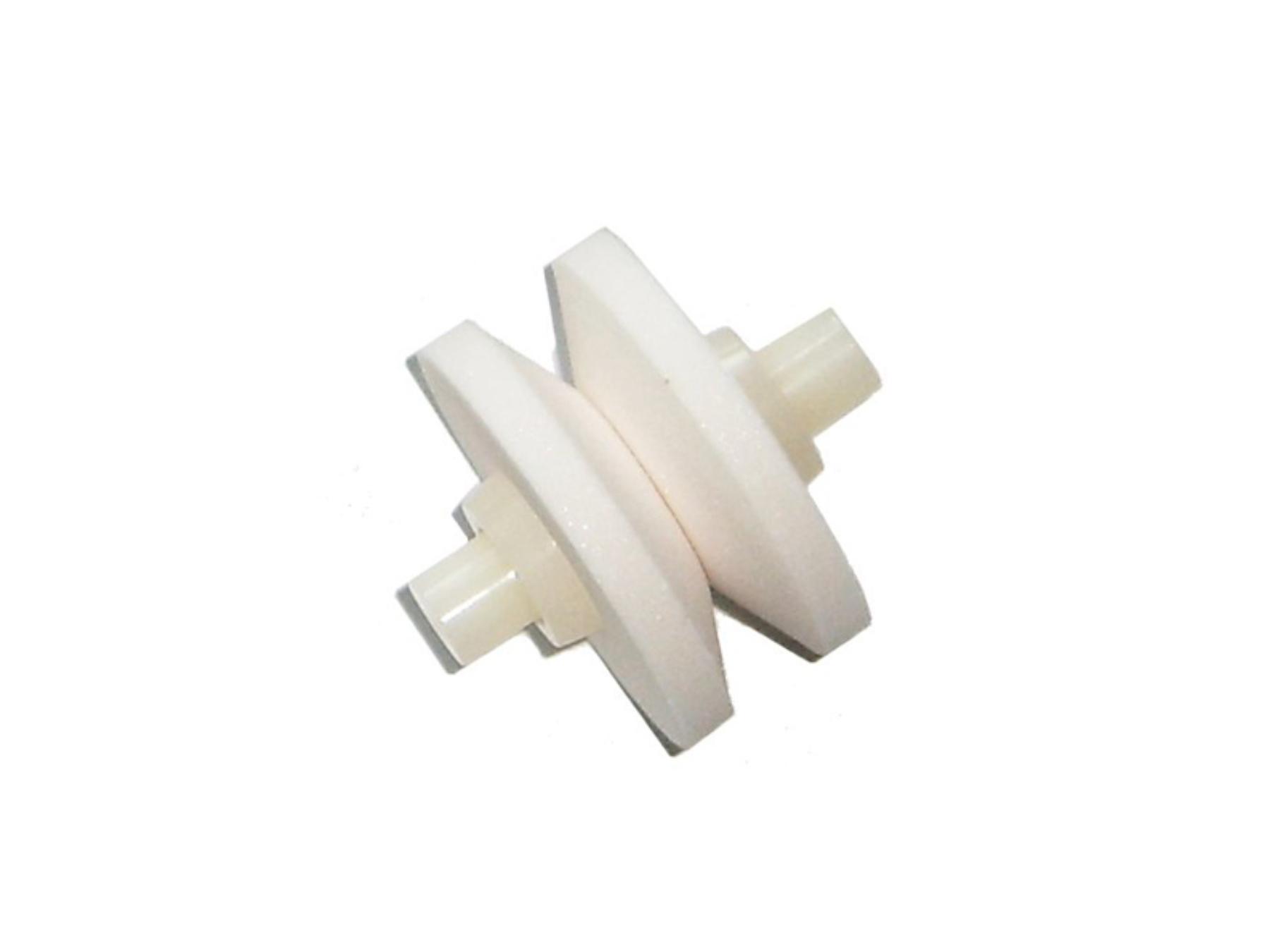 MinoSharp 444 Ersatz Keramikstein für 440-GB und 444-BR, weiß