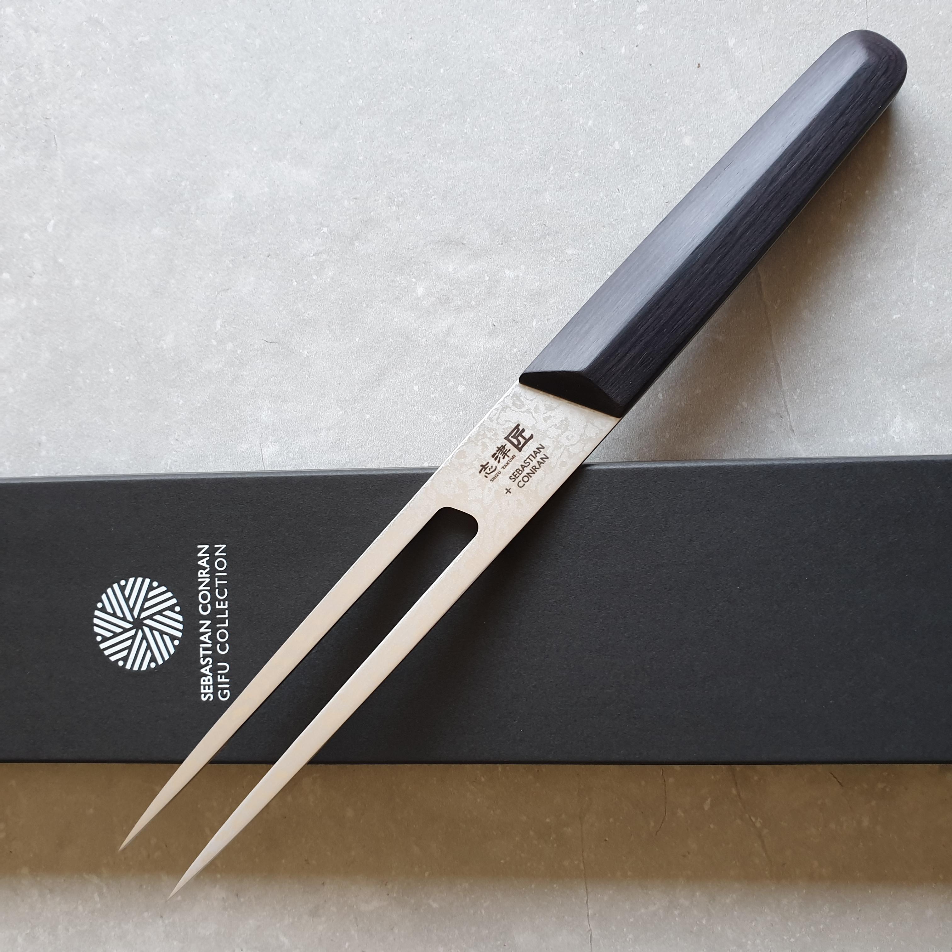 Shizu Hamono Sebastian Conran Gifu SC-1104 Fleischgabel 13cm