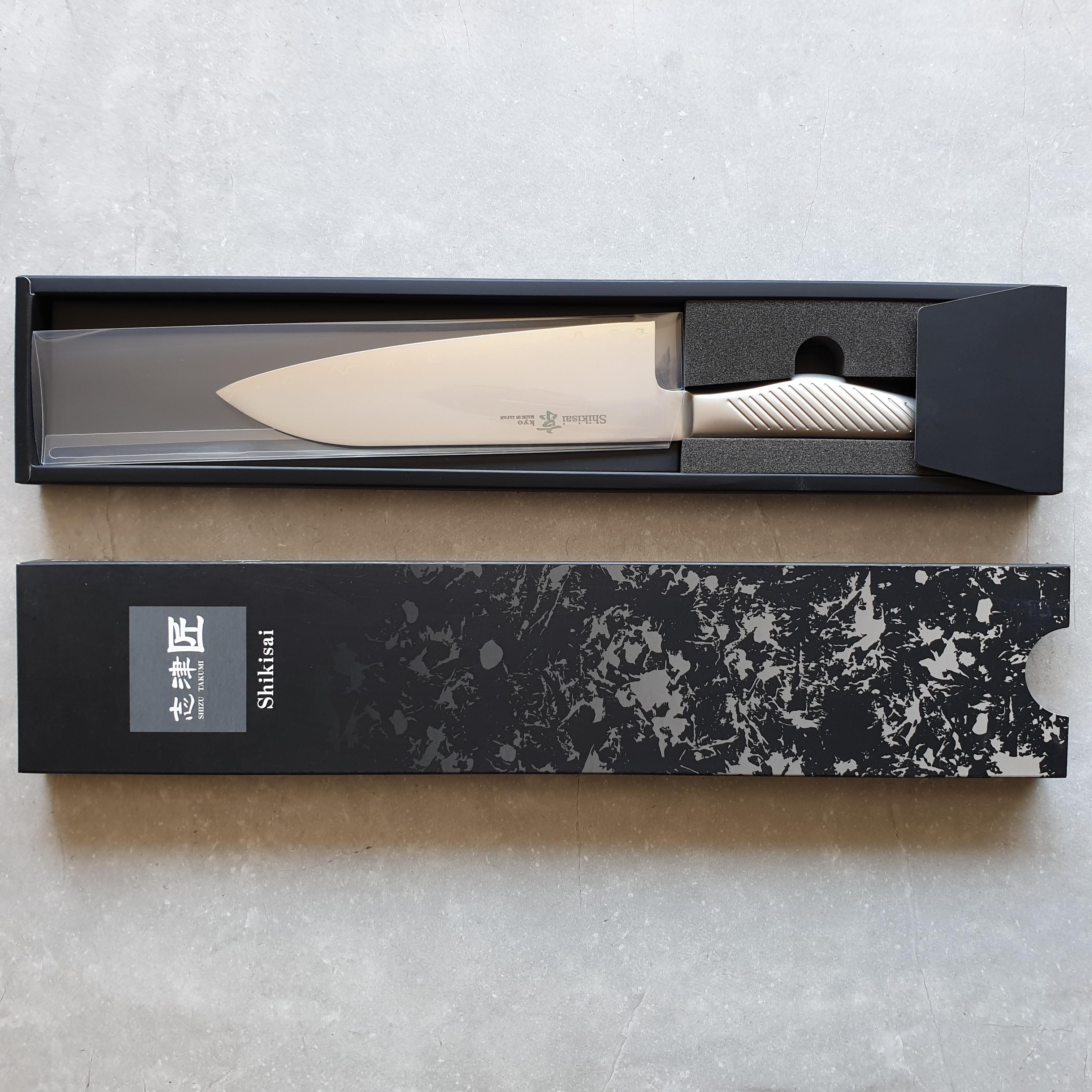 Shizu Hamono Kyo SK-1078 Santoku 18cm