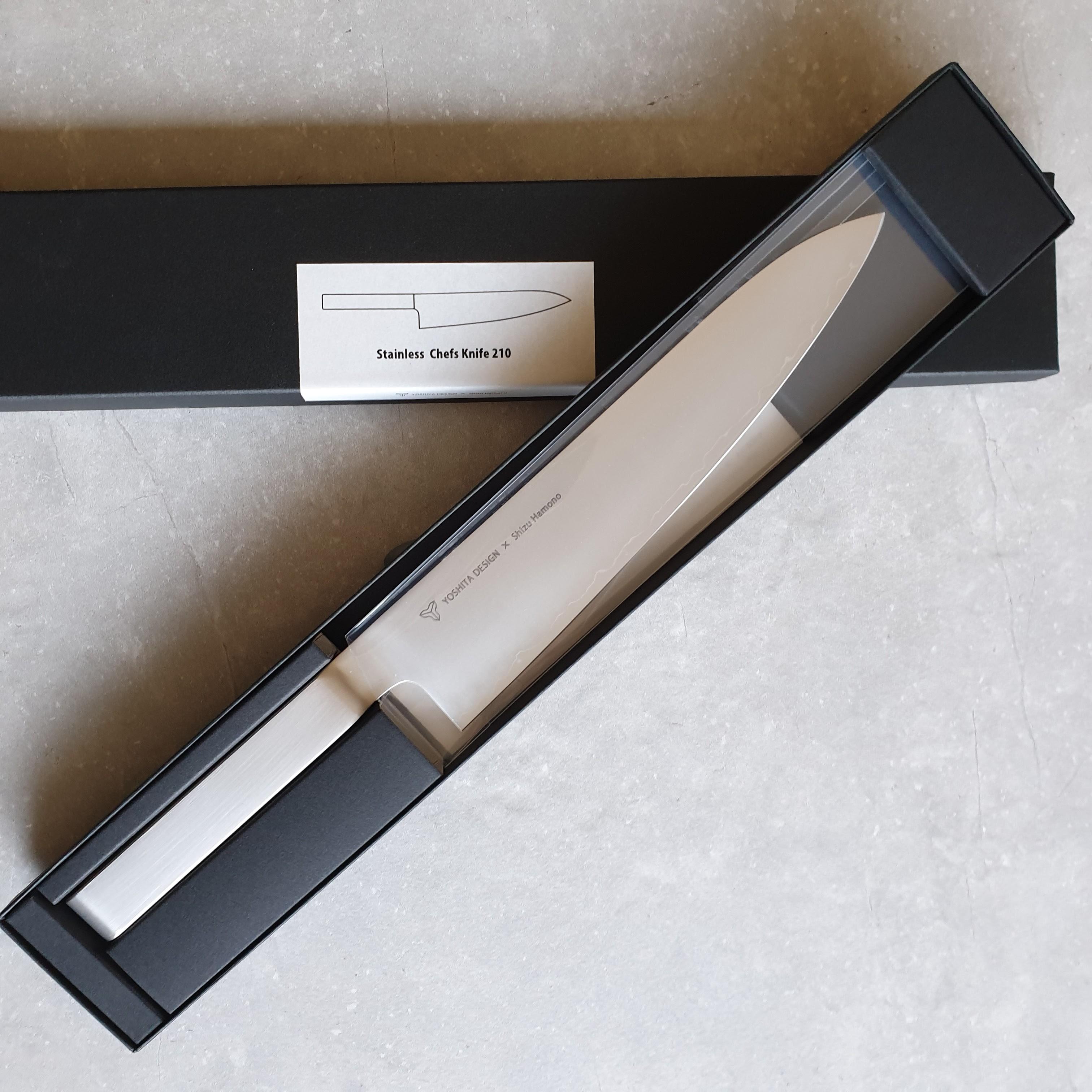 Shizu Hamono Round-bar YR-1001 Kochmesser 21 cm