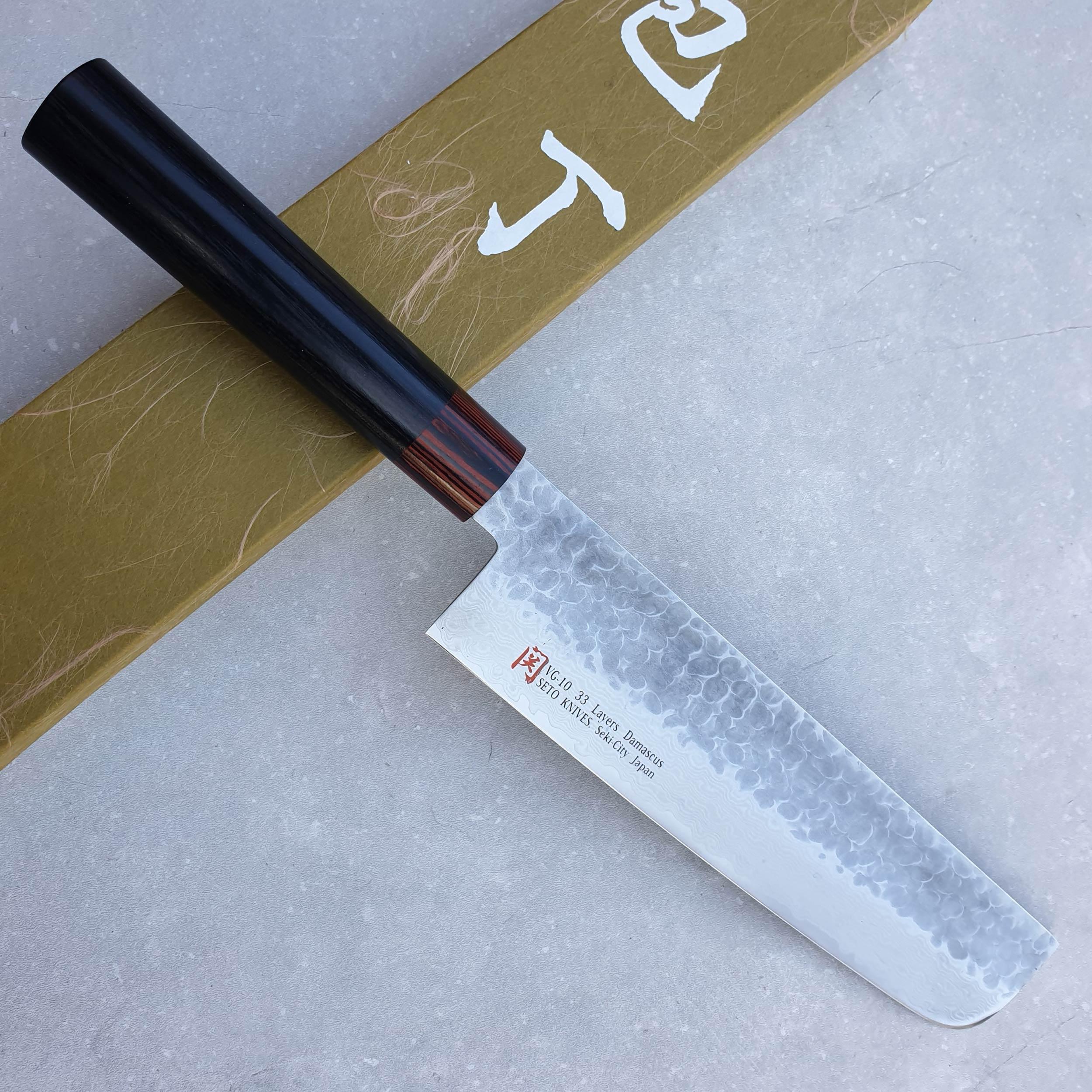 Seto Knives Iseya I-Serie KK-6 Nakiri 18 cm