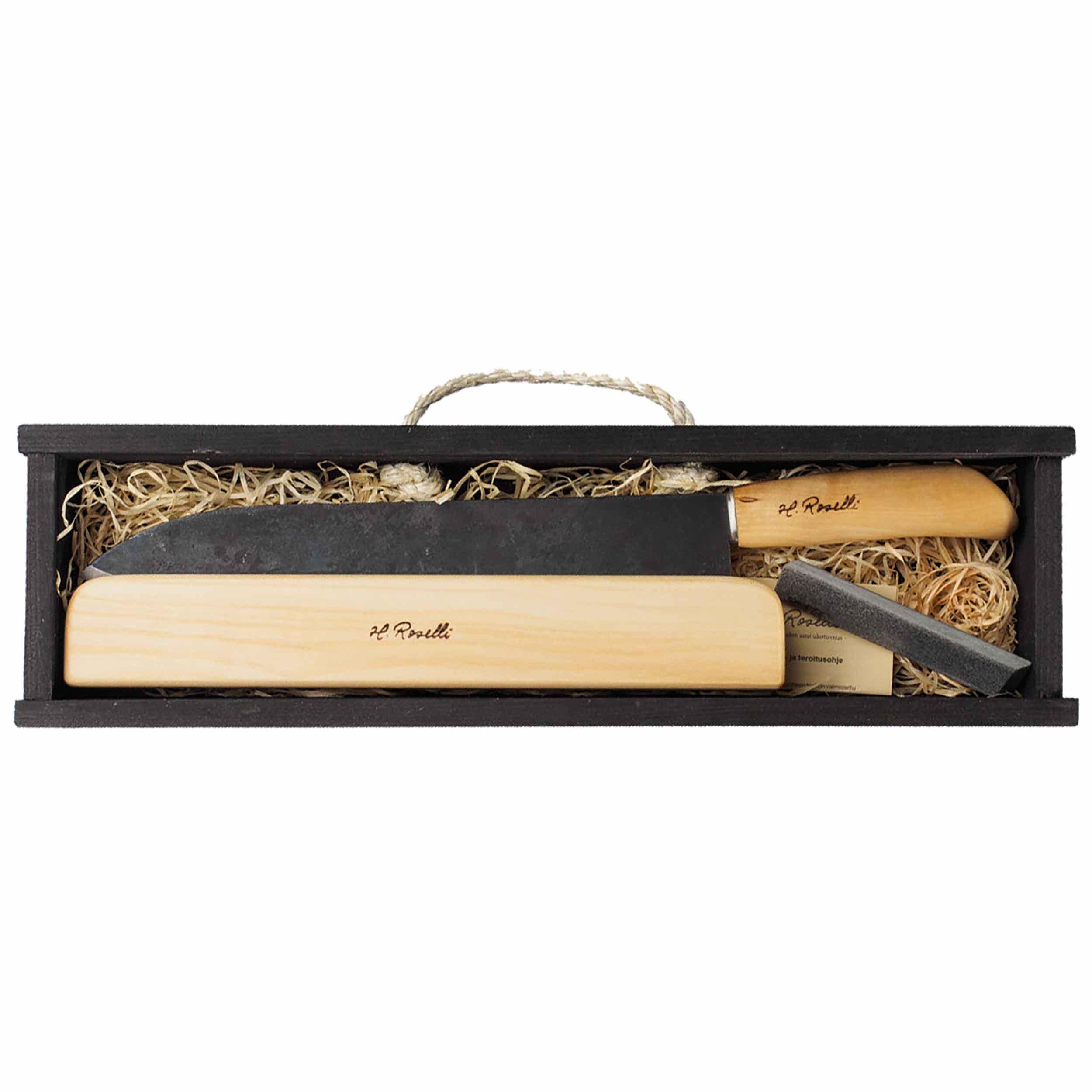 Roselli R720P Kochmesser 24 cm als Geschenkset
